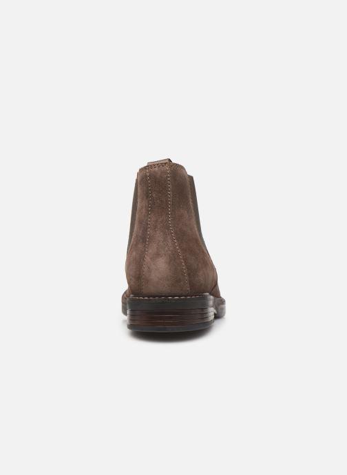 Bottines et boots Clarks Paulson Up Marron vue droite