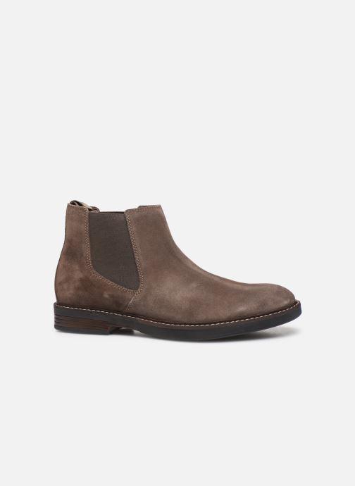 Bottines et boots Clarks Paulson Up Marron vue derrière