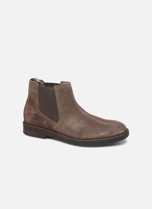 Bottines et boots Clarks Paulson Up Marron vue détail/paire