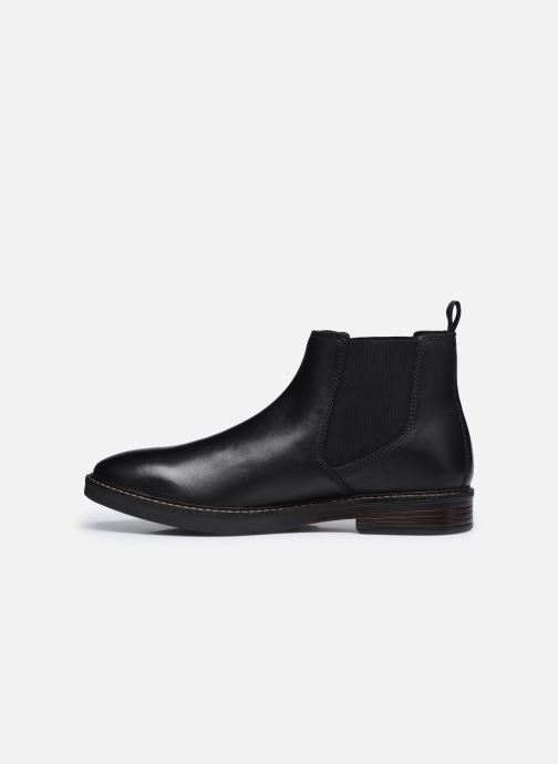 Bottines et boots Clarks Paulson Up Noir vue face