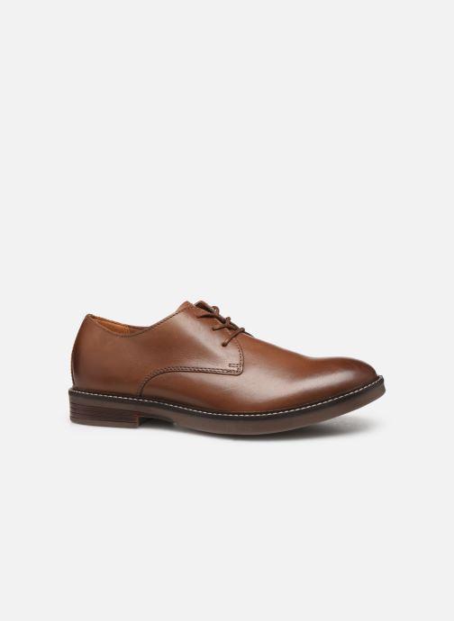 Chaussures à lacets Clarks Paulson Plain Marron vue derrière