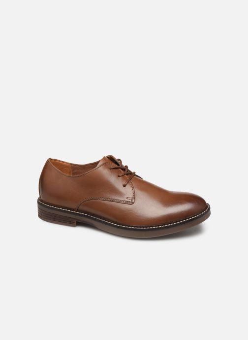 Chaussures à lacets Clarks Paulson Plain Marron vue détail/paire