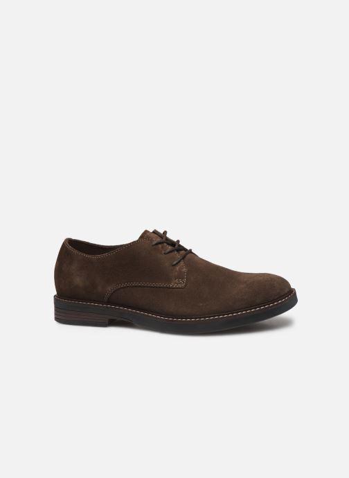 Zapatos con cordones Clarks Paulson Plain Marrón vistra trasera