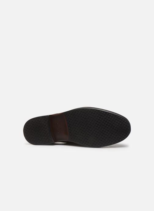 Chaussures à lacets Clarks Paulson Plain Marron vue haut