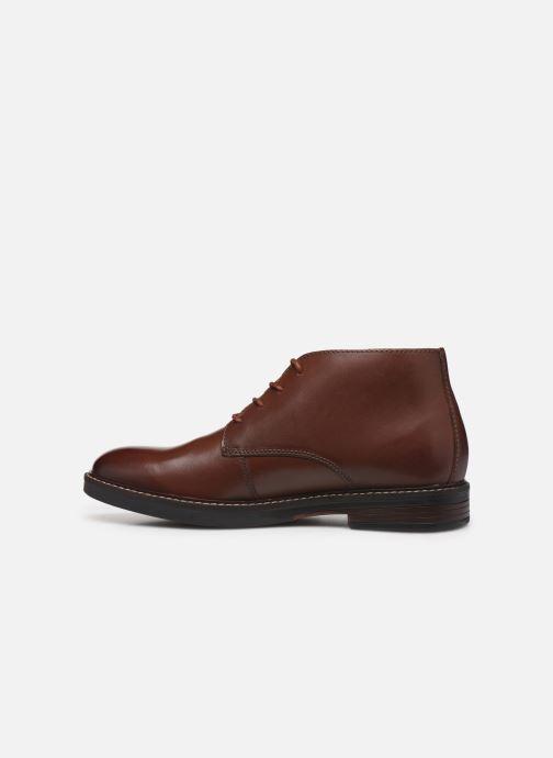 Bottines et boots Clarks Paulson Mid Marron vue face