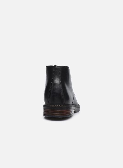 Bottines et boots Clarks Paulson Mid Noir vue droite