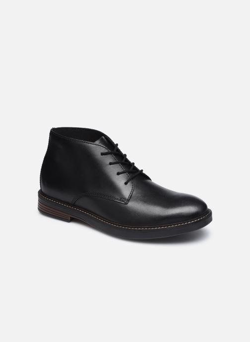 Bottines et boots Clarks Paulson Mid Noir vue détail/paire