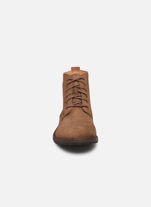 Boots en enkellaarsjes Clarks Clarkdale Hill Bruin model