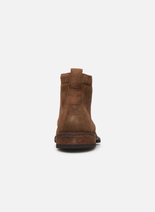 Boots en enkellaarsjes Clarks Clarkdale Hill Bruin rechts