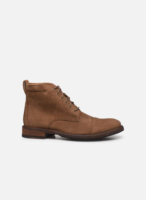 Boots en enkellaarsjes Clarks Clarkdale Hill Bruin achterkant