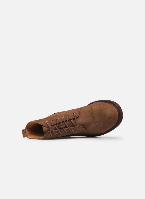 Boots en enkellaarsjes Clarks Clarkdale Hill Bruin links