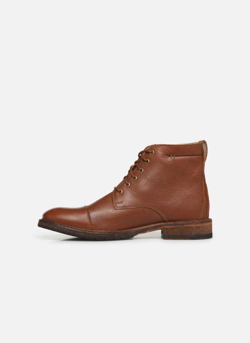 Bottines et boots Clarks Clarkdale Hill Marron vue face