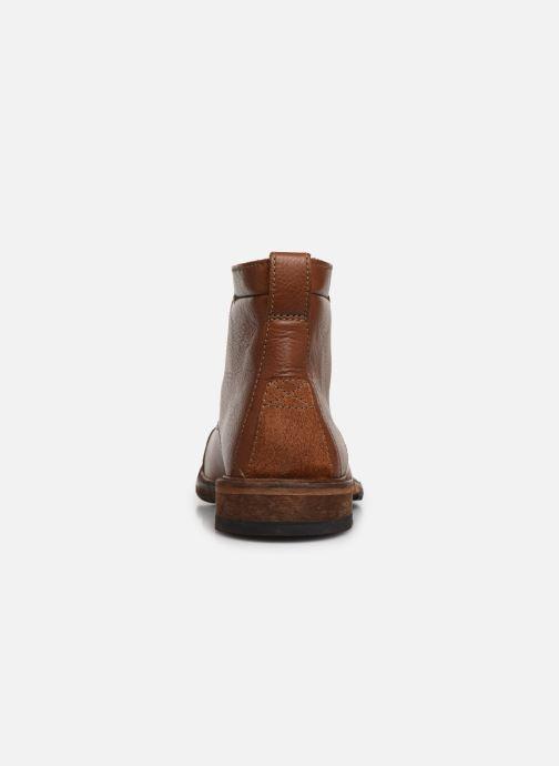 Bottines et boots Clarks Clarkdale Hill Marron vue droite