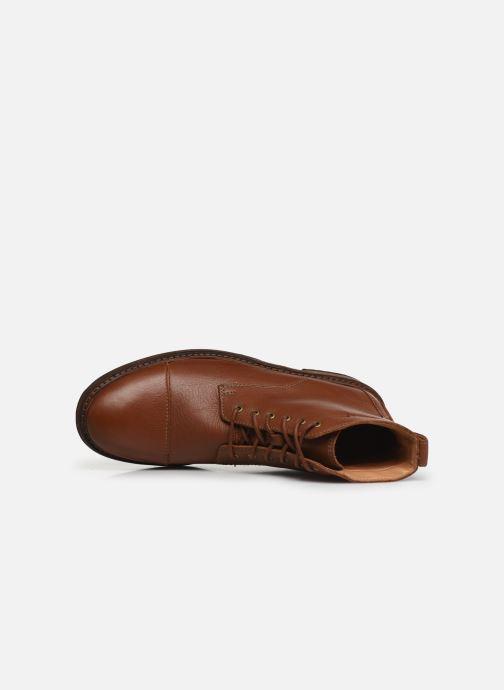 Bottines et boots Clarks Clarkdale Hill Marron vue gauche