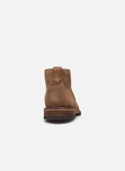 Bottines et boots Clarks Clarkdale Base Marron vue droite