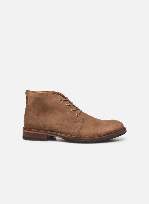 Boots en enkellaarsjes Clarks Clarkdale Base Bruin achterkant
