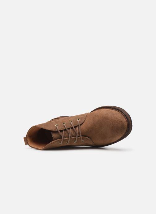 Boots en enkellaarsjes Clarks Clarkdale Base Bruin links