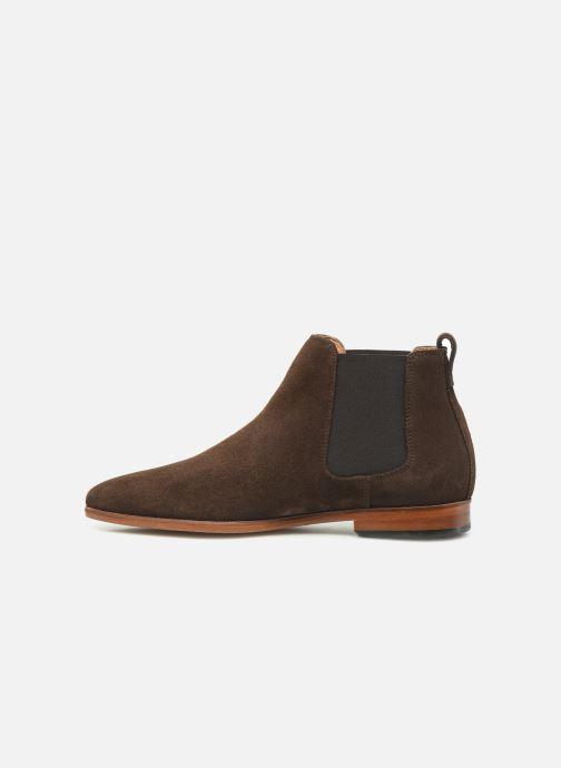 Boots en enkellaarsjes Clarks Code Hi Bruin voorkant