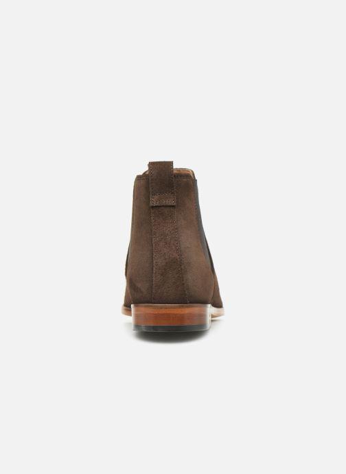 Bottines et boots Clarks Code Hi Marron vue droite