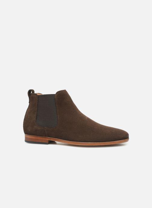 Boots en enkellaarsjes Clarks Code Hi Bruin achterkant