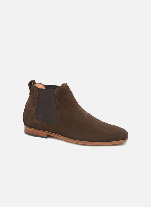 Boots en enkellaarsjes Clarks Code Hi Bruin detail