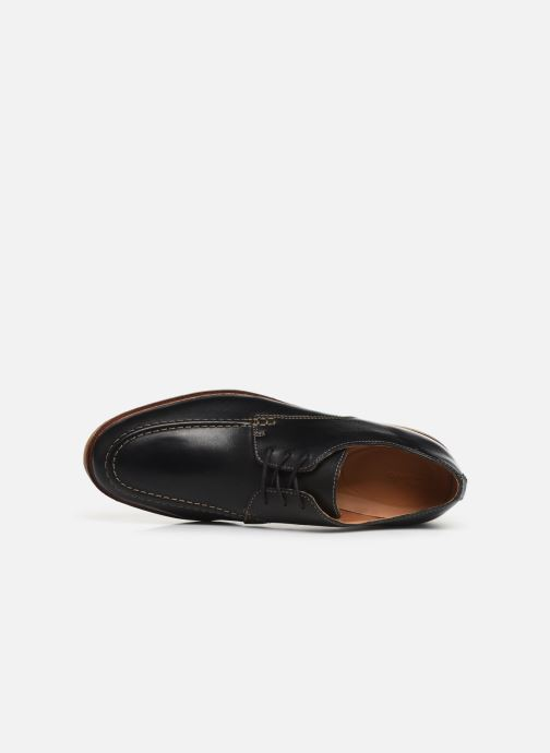 Lace-up shoes Clarks ClarkdaleApron Black view from the left
