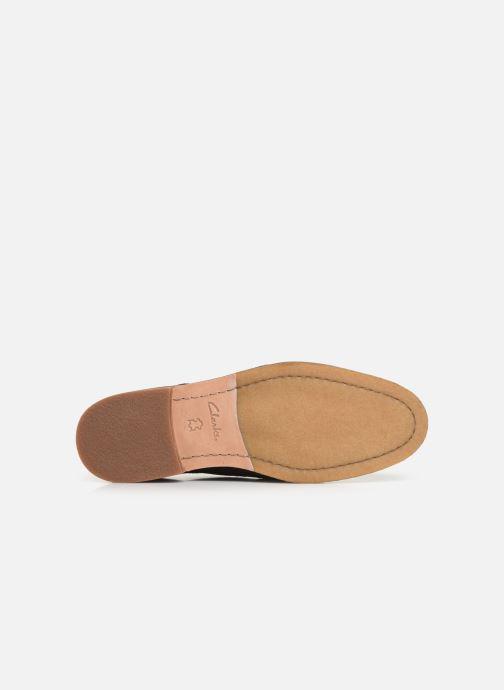 Chaussures à lacets Clarks ClarkdaleApron Marron vue haut