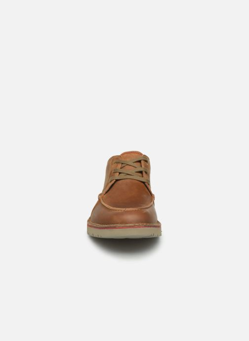 Lace-up shoes Clarks Vargo Vibe Brown model view