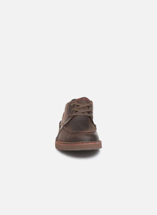 Zapatos con cordones Clarks Vargo Vibe Marrón vista del modelo