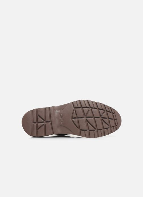 Lace-up shoes Clarks Vargo Vibe Brown view from above