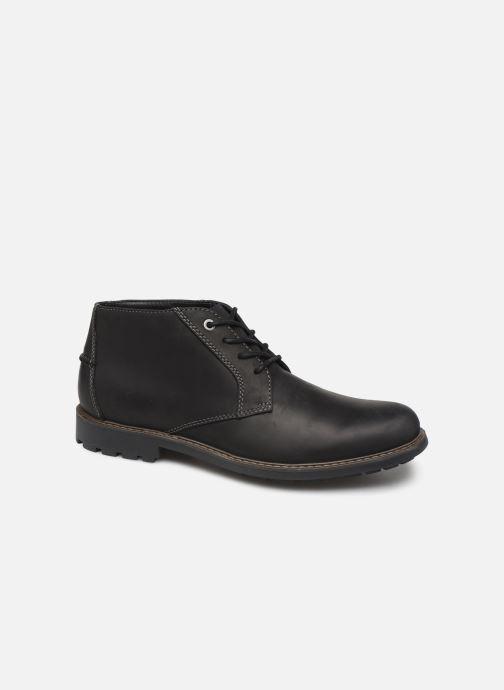 Stiefeletten & Boots Clarks Curington Over schwarz detaillierte ansicht/modell