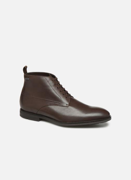 Boots en enkellaarsjes Clarks Ronnie Up GTX Bruin detail