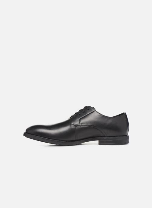 Zapatos con cordones Clarks Ronnie WalkGTX Negro vista de frente