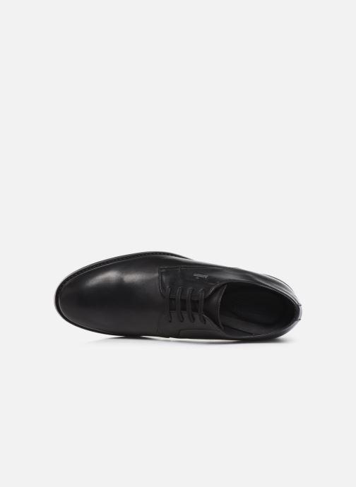 Zapatos con cordones Clarks Ronnie WalkGTX Negro vista lateral izquierda