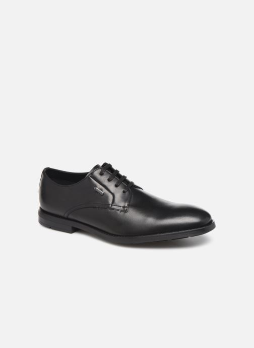 Lace-up shoes Clarks Ronnie WalkGTX Black detailed view/ Pair view