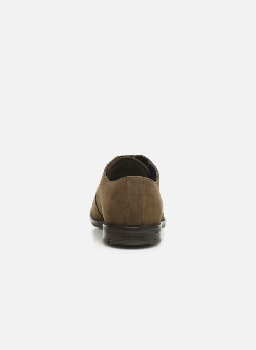 Zapatos con cordones Clarks Ronnie WalkGTX Marrón vista lateral derecha
