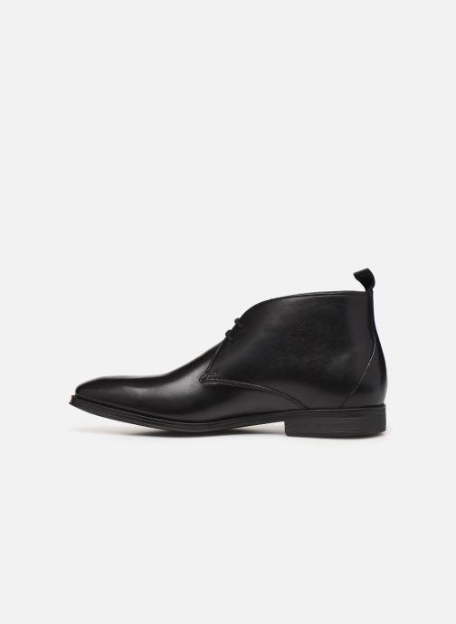 Bottines et boots Clarks Gilman Rise Noir vue face