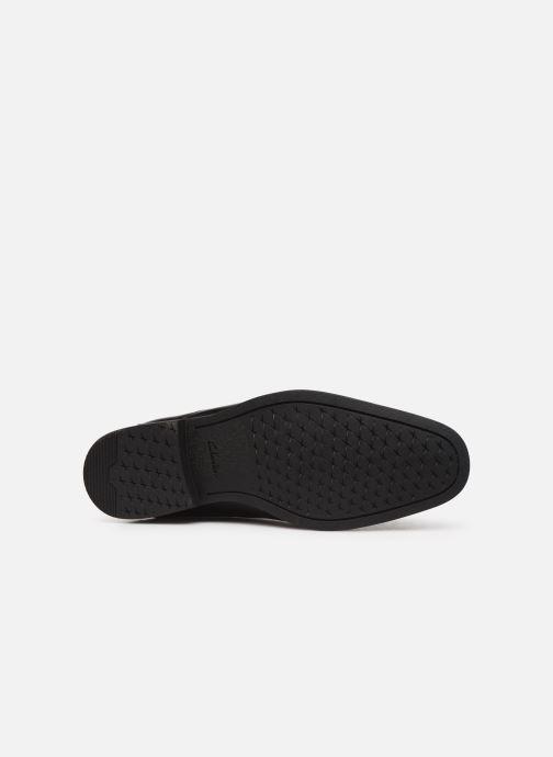 Bottines et boots Clarks Gilman Rise Noir vue haut