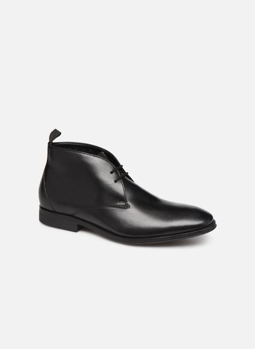 Ankelstøvler Clarks Gilman Rise Sort detaljeret billede af skoene