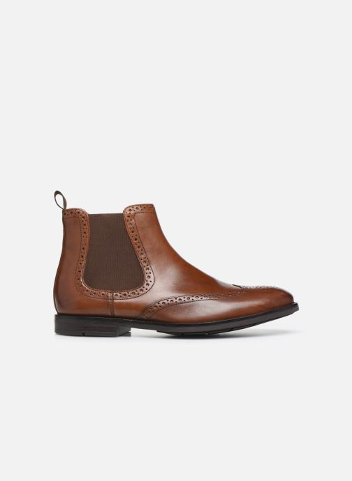 Ankle boots Clarks Ronnie Top Brown back view
