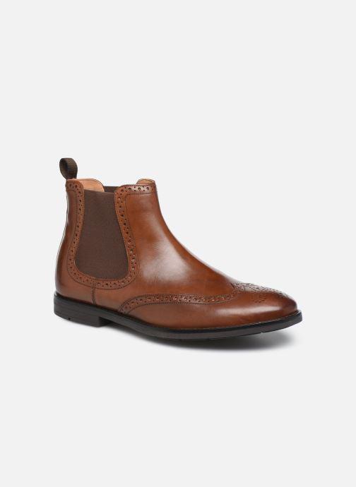 Bottines et boots Clarks Ronnie Top Marron vue détail/paire