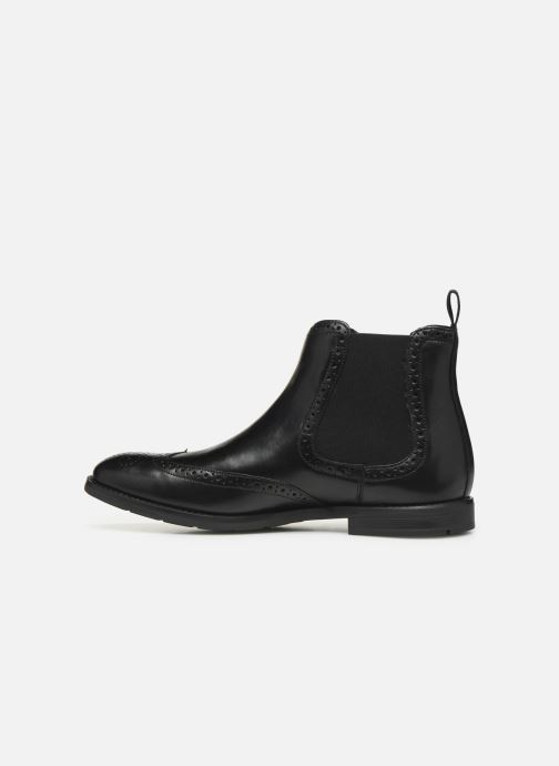 Bottines et boots Clarks Ronnie Top Noir vue face
