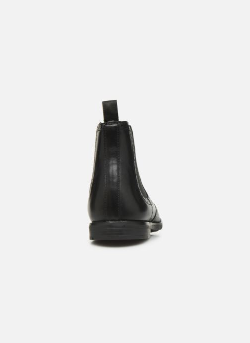 Ankle boots Clarks Ronnie Top Black view from the right