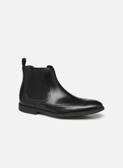 Bottines et boots Clarks Ronnie Top Noir vue détail/paire