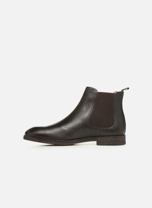 Boots en enkellaarsjes Clarks Oliver Top Bruin voorkant