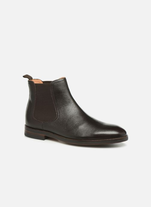 Bottines et boots Clarks Oliver Top Marron vue détail/paire