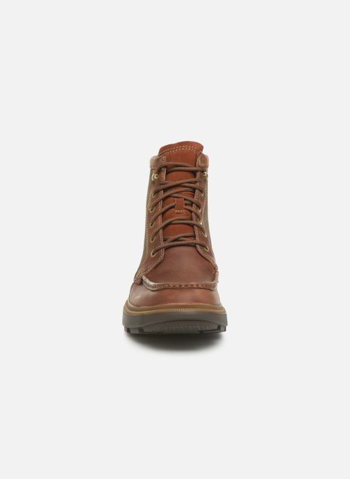 Ankle boots Clarks Dempsey Peak Brown model view