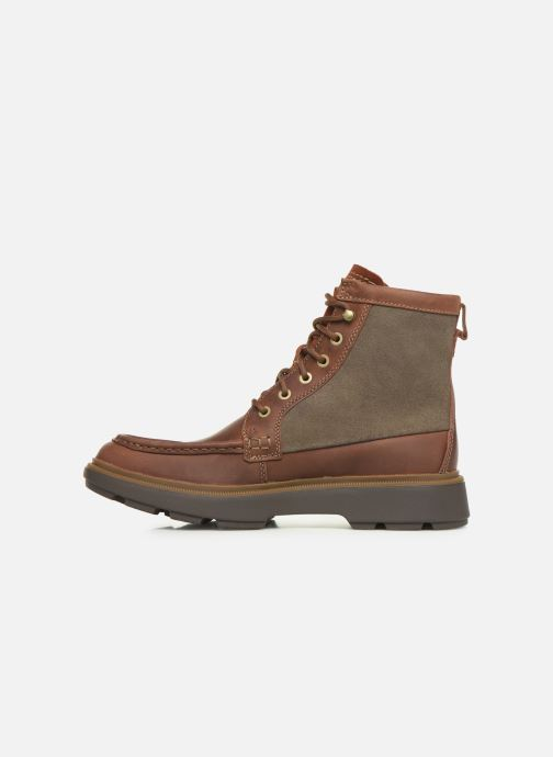 Ankle boots Clarks Dempsey Peak Brown front view