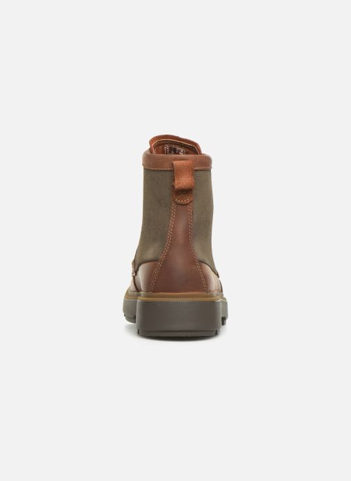 Ankle boots Clarks Dempsey Peak Brown view from the right