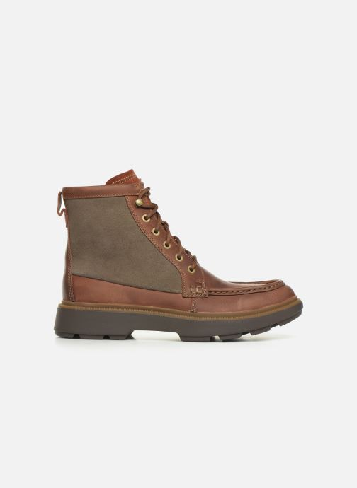 Ankle boots Clarks Dempsey Peak Brown back view